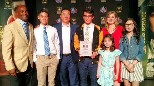 Tyson Tran, Family and Darrell Green